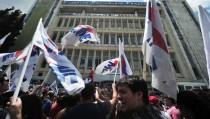 Protest Schliessung ERT